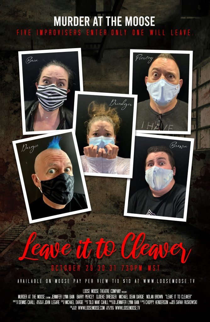 Murder at the Moose - Leave it to Cleaver Poster